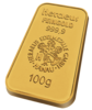 100 Gr. Gold Bar Heraeus
