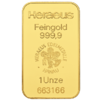 1 Ounce Gold Bar Heraeus