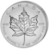 5 $ Maple Leaf 1 oz Ag 2013