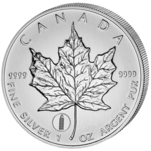 "5 $ Maple Leaf Privy ""Pisa"" 2012"