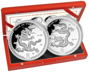 2x5 $ Year of the Dragon 2012