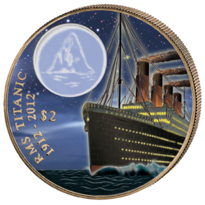 2 $ Titanic at Night 2012