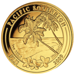100 $ Pacific Sovereign 1 oz 2009