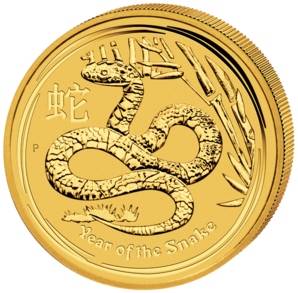 50 $ Year of the snake 1/2 oz 2013