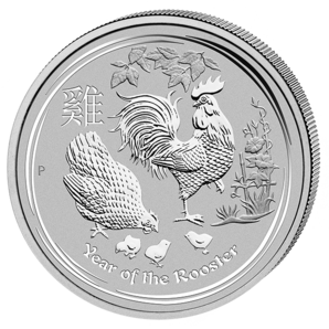 10 $ Year of the Rooster 10 oz 2017