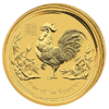 15 $ Year of the Rooster1/10oz 2017