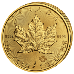 50 $ Maple Leaf 1 oz Au 2018