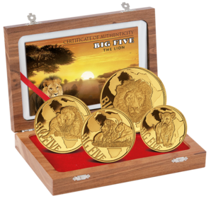 1875 Fr Lion Proof Set 2015