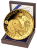 1 oz Elephant Gold Privy Dog 2018