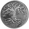 2 $ Tree of Life 1 oz Ag 2019
