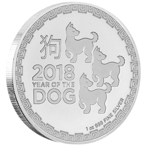 2 $ Year of the dog 2018