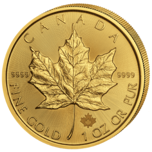 50 $ Maple Leaf 1 oz Au 2020
